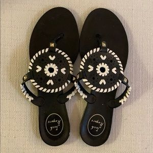 Pair of Jack Rogers 2018 Georgica Jelly Sandals